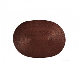 Placemat Oval - Makaua Brown - Asa Selection