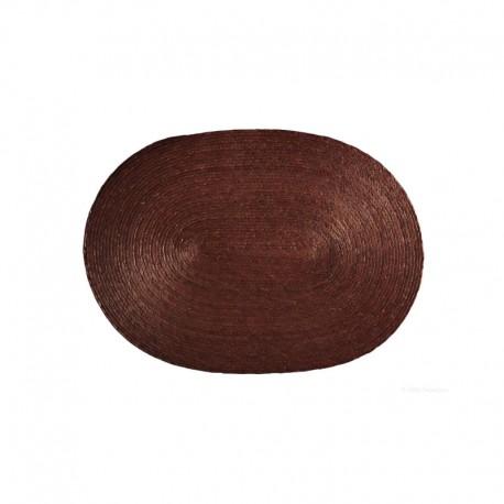 Placemat Oval - Makaua Brown - Asa Selection ASA SELECTION ASA79052058