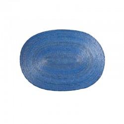 Placemat Oval - Makaua Light Blue - Asa Selection