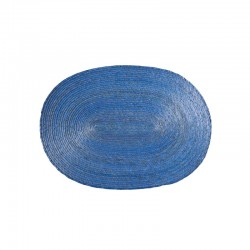 Placemat Oval - Makaua Blue - Asa Selection