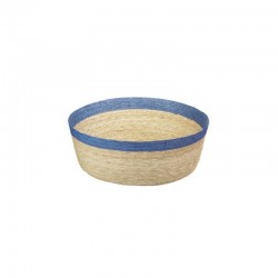Bowl Round L - Makaua Brown And Blue - Asa Selection