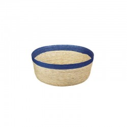 Bowl Round M - Makaua Brown And Dark Blue - Asa Selection