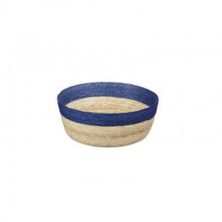 Bowl Round S - Makaua Brown And Dark Blue - Asa Selection