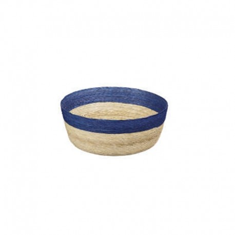 Bowl Round S - Makaua Brown And Dark Blue - Asa Selection ASA SELECTION ASA79314058
