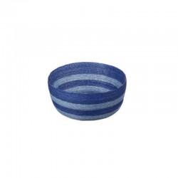 Cesto Redondo S - Makaua Azul Claro E Escuro - Asa Selection