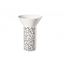 Vase Strokes ø10,6cm - New Memphis White And Black - Asa Selection ASA SELECTION ASA86011086