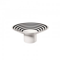 TeaLight Holder Stripes ø12,7cm - New Memphis White And Black - Asa Selection ASA SELECTION ASA86132086