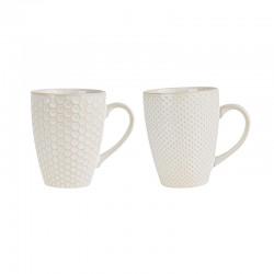 Set Of 2 Mugs - Linna White - Asa Selection ASA SELECTION ASA90403071