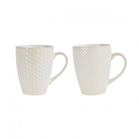Set Of 2 Mugs - Linna White - Asa Selection ASA SELECTION ASA90403071