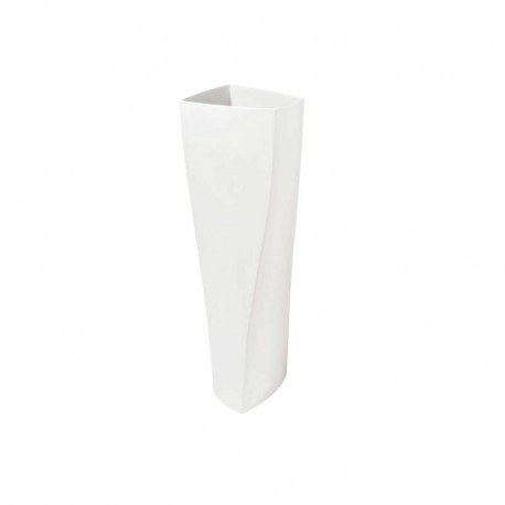 Florero 70Cm - Twist Blanco Mate - Asa Selection ASA SELECTION ASA92809091