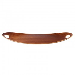 Oval Wooden Tray 55Cm - Chava Brown - Asa Selection