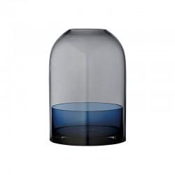 Lanterna Ø16Cm - Tota Preto E Azul Marinho - Aytm