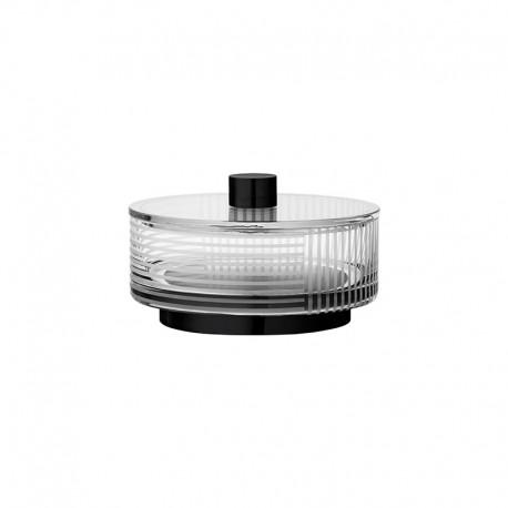Bombonera Ø13Cm - Vitreus Transparente Y Negro - Aytm AYTM AYT501009000010