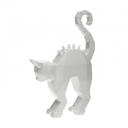 Creepy Cat Statue - Spikes Bright White - Byfly