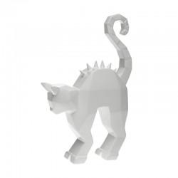 Gato Decorativo - Spikes Branco Brilhante - Byfly BYFLY BY0015