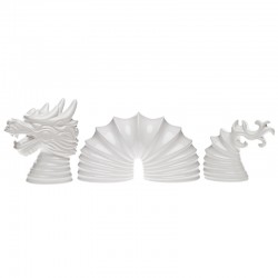 Dragão Decorativo Set - Dragon Branco Brilhante - Byfly BYFLY BY0042