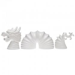 Dragón Decorativo Set - Dragon Blanco Brilliante - Byfly BYFLY BY0042