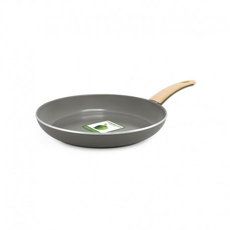 Frying Pan Ø24Cm - Wood-Be Grey - Green Pan GREEN PAN CW001451-003