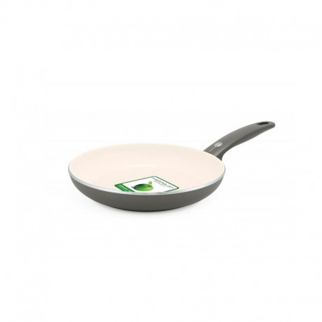 Frying Pan Ø20Cm - Cambridge Cream And Grey - Green Pan GREEN PAN CW001490-003