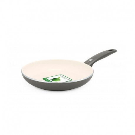 Frying Pan Ø28Cm - Cambridge Cream And Grey - Green Pan GREEN PAN CW001492-003