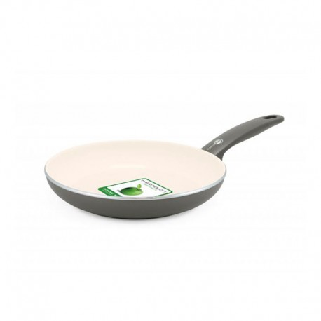 Frying Pan Ø30Cm - Cambridge Cream And Grey - Green Pan GREEN PAN CW001493-003