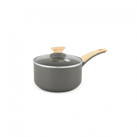 Casserole With Lid Ø16Cm - Wood-Be Grey - Green Pan GREEN PAN CW001529-002