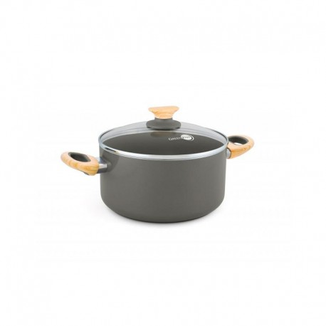 Casserole With Lid Ø20Cm - Wood-Be Grey - Green Pan GREEN PAN CW001530-002