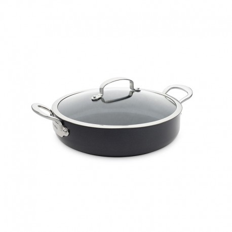 Casserole With Lid Ø30Cm - Barcelona Black - Green Pan GREEN PAN CW002209-002