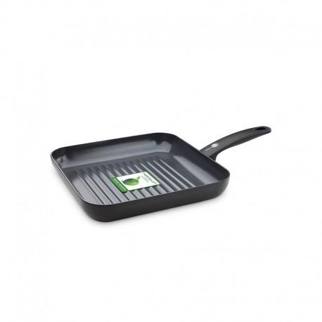 Square Grill Pan - Cambridge Infinity Black - Green Pan GREEN PAN CW002217-002