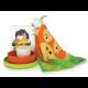 Kid'S Organgutan Set - Bambino Lime (plate), Persimmon (bowl), White (cup) - Biobu BIOBU EKB35397
