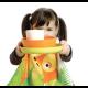 Conjunto Infantil Orangotango - Bambino Lima (prato), Laranja (taça), Branco (copo) - Biobu BIOBU EKB35397