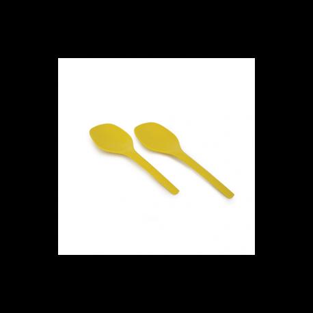 Talheres De Servir Salada - Gusto Amarelo (limão) - Biobu BIOBU EKB36356