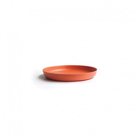 Medium Plate Ø23Cm - Bambino Persimmon - Ekobo   Medium Plate Ø23Cm - Bambino Persimmon - Ekobo