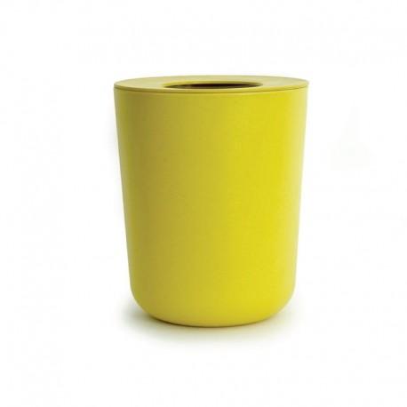 Cubo De Basura Ø19Cm - Baño Limón - Ekobo  Cubo De Basura Ø19Cm - Baño Limón - Ekobo