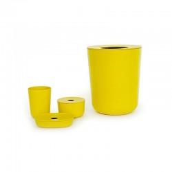 Conjunto Wc - Baño Amarelo (limão) - Biobu