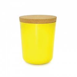 Frasco Xxl Com Tampa - Gusto Amarelo (limão) - Biobu