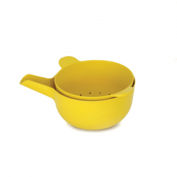 Small Bowl + Colander - Pronto Lemon - Biobu