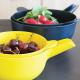 Taça Multiusos + Escorredor Pequeno - Pronto Amarelo (limão) - Biobu BIOBU EKB68630