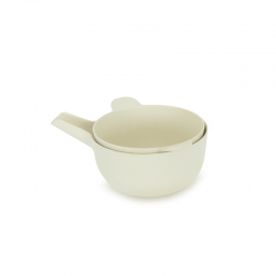 Small Bowl + Colander White - Pronto - Biobu