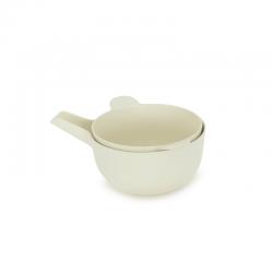 Taça Multiusos + Escorredor Pequeno - Pronto Branco - Biobu