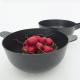 Large Bowl + Colander - Pronto Black - Ekobo | Large Bowl + Colander - Pronto Black - Ekobo