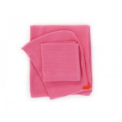 Baby Towel Set - Bambino Pink - Ekobo Home