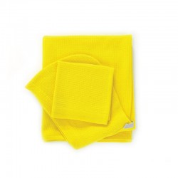 Baby Towel Set - Bambino Lemon - Ekobo Home