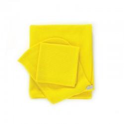 Conjunto Toalhas Bebé - Bambino Amarelo (limão) - Ekobo Home