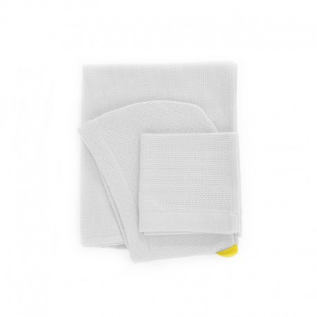 Baby Towel Set - Bambino White - Ekobo Home EKOBO HOME EKB69347