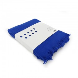 Beach Towel - Fresco Royal Blue - Ekobo Home EKOBO HOME EKB69408