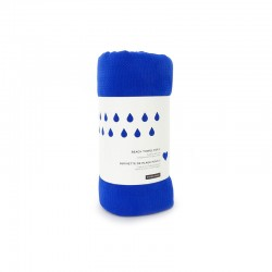 Beach Towel For 2 - Fresco Royal Blue - Ekobo Home EKOBO HOME EKB69446