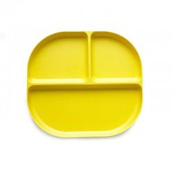 Tabuleiro Com Divisórias - Bambino Amarelo (limão) - Biobu