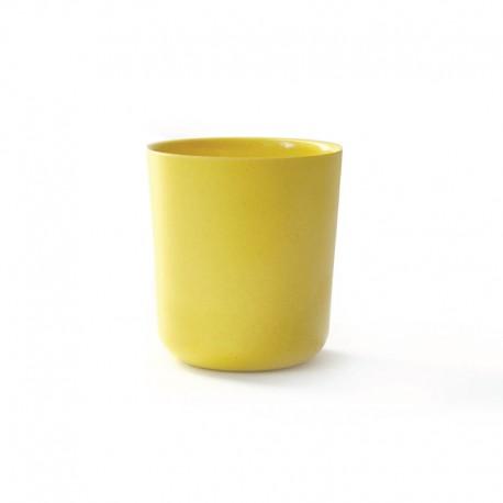 Copo Médio Ø8,5Cm - Gusto Amarelo (limão) - Biobu BIOBU EKB8866