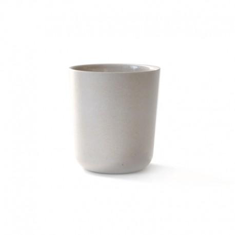 Copo Médio Ø8,5Cm - Gusto Cinza Pedra - Biobu BIOBU EKB8880